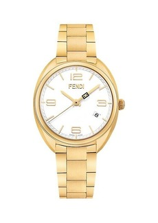 Fendi Momento Stainless Steel Bracelet Watch