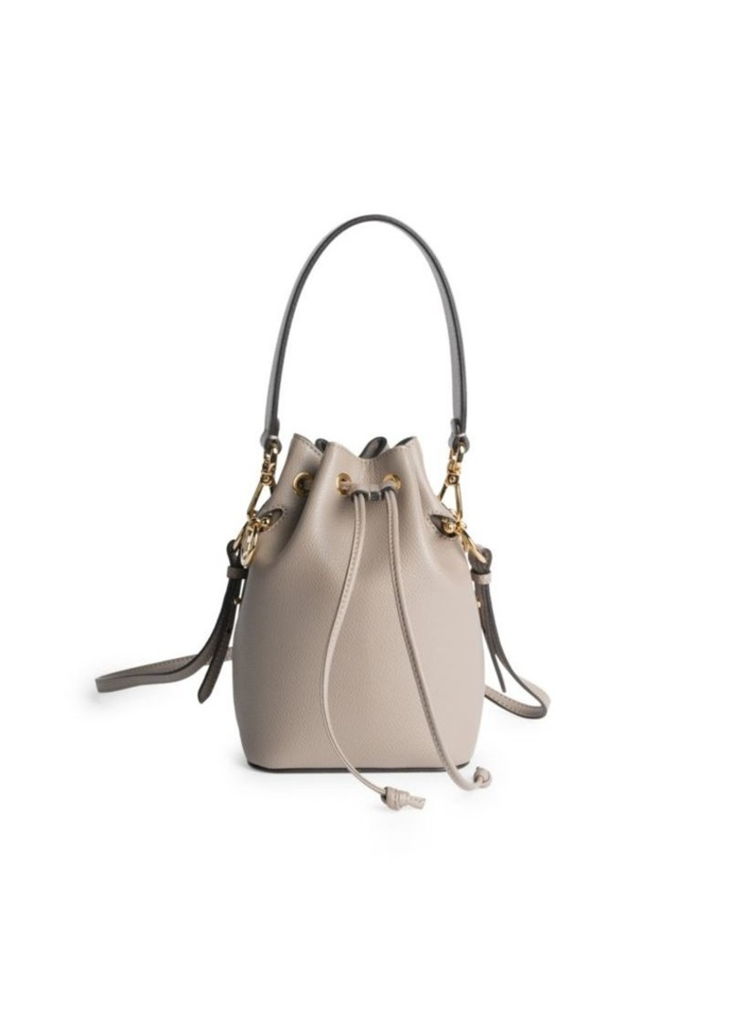 2def6d5287f0 Fendi Mon Tresor Leather Bucket Bag