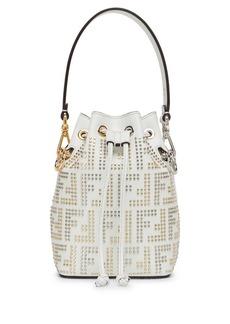 Fendi Mon Tresor FF Micro Studded Bucket Bag