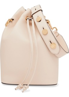 Fendi Mon Trésor Large Leather Bucket Bag