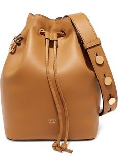 Fendi Mon Trésor Leather Bucket Bag