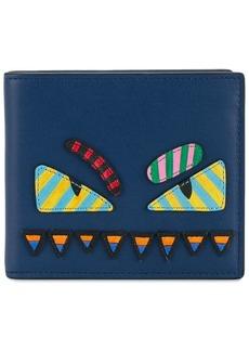 Fendi monster eyes wallet