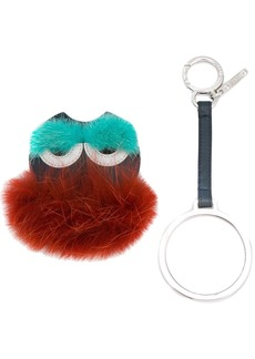 Fendi Monster Mink Fur Keyring