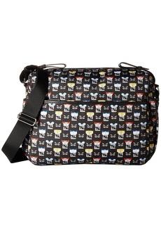 Fendi Monster Print Diaper Bag