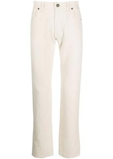 Fendi motif print trousers