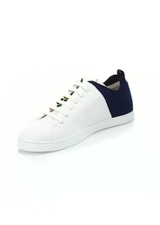 Fendi Multicolor Block Lace-Up Sneakers