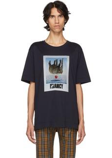 Fendi Navy Fancy T-Shirt