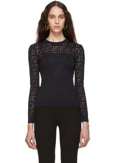 Navy 'Forever Fendi' Sweater