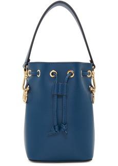 Fendi Navy Mini 'Mon Trésor' Bucket Bag