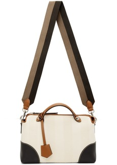 Fendi Off-White Medium By The Way Top Handle Bag