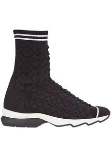 Fendi open work sneakers