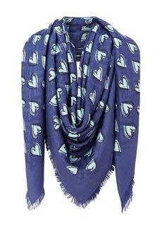 Fendi Open Your Heart shawl scarf