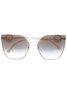 Fendi oversized cat-eye sunglasses