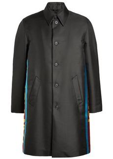 Fendi Oversized Printed Coat