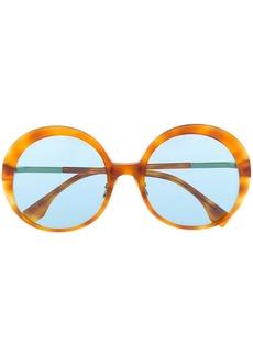 Fendi oversized round frame sunglasses