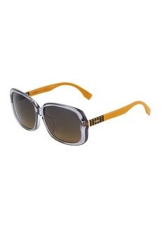 Fendi Oversized Square Acetate Sunglasses