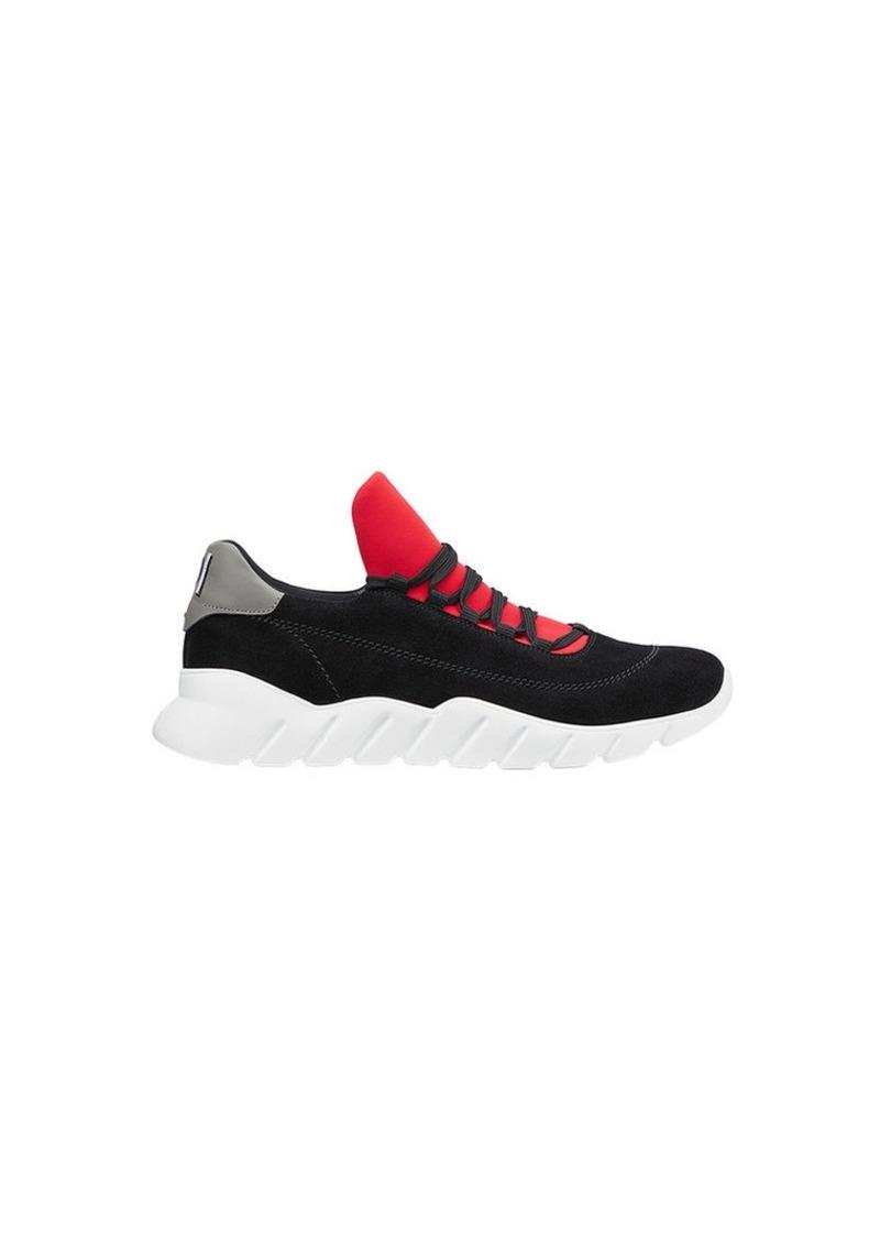 Fendi oversized tongue sneakers