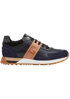 Fendi panelled lace-up sneakers