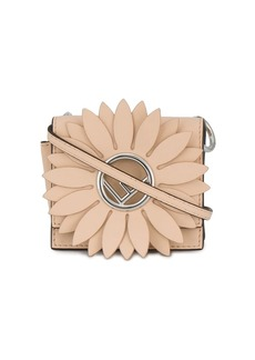 Fendi pink Kan I F micro leather bag