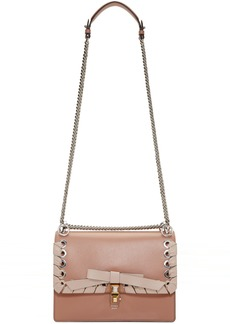 Fendi Pink 'Kan I' Flap Shoulder Bag