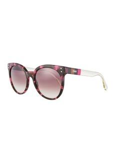 Fendi Plastic Round Sunglasses