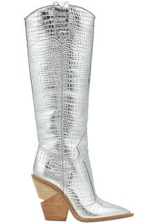Fendi pointed toe cowboy boots