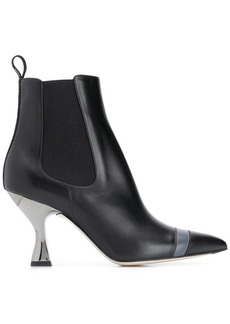 Fendi Colibrì pointed toe ankle boots