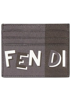 Fendi printed card holder