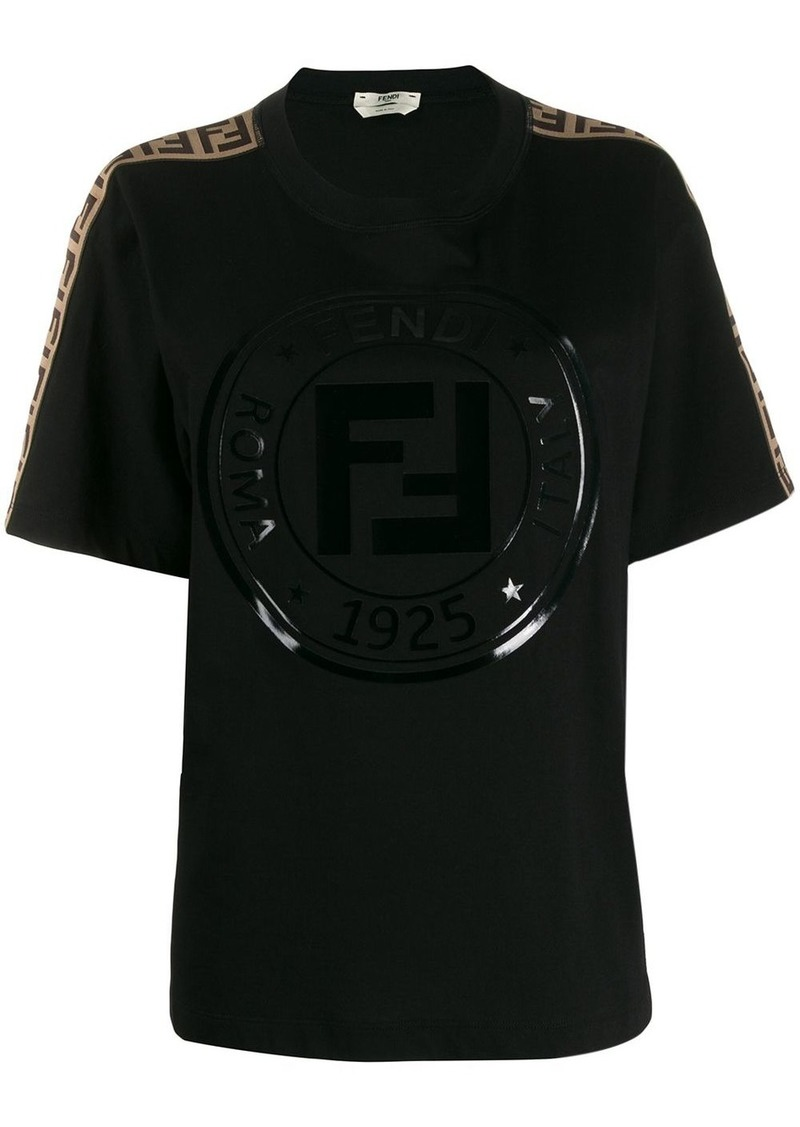 printed Fendi stamp T-shirt