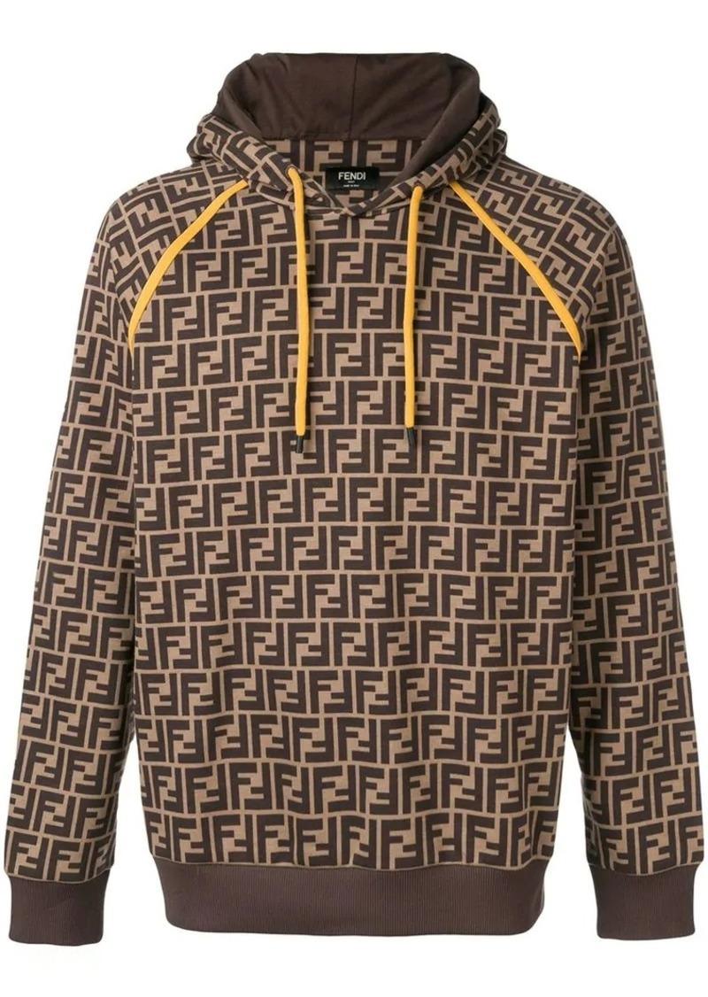 096e5612c Fendi printed FF logo hoodie   Outerwear