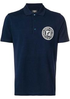 Fendi printed FF logo polo shirt
