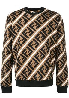 Fendi printed FF logo sweatshirt