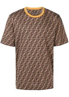 Fendi printed FF logo T-shirt