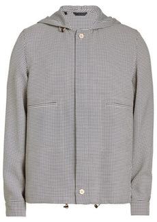 Fendi Printed Jacket with Hood