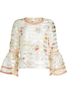 Fendi Printed Silk Blouse