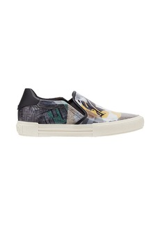 Fendi printed slip-on sneakers
