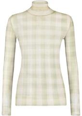Fendi Vichy-check print jumper