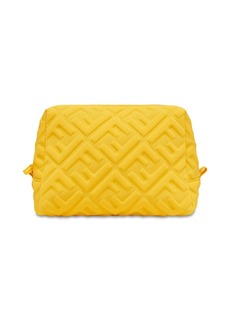 Fendi raised FF-logo makeup bag