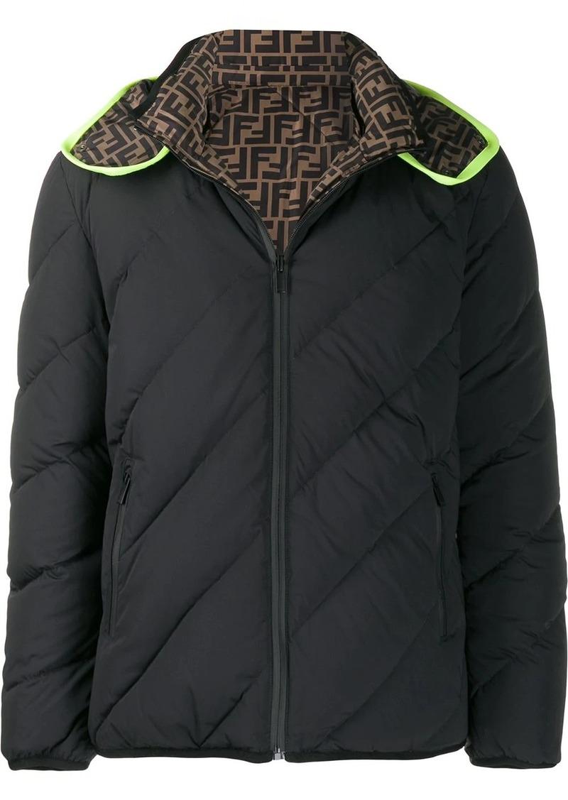 Fendi reversible FF padded jacket