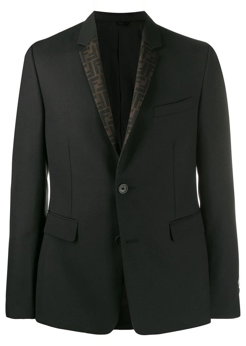 Fendi reversible FF blazer