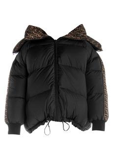 Fendi Reversible FF Logo Print Puffer Jacket
