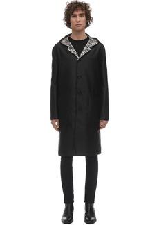 Fendi Reversible Hooded Nylon Coat