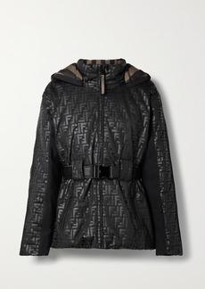 Fendi Reversible Printed Ski Jacket