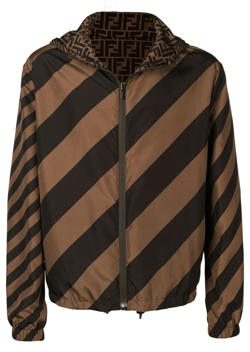 Fendi reversible windbreaker jacket
