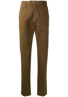 Fendi ribbed detailing chino trousers