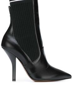Fendi Rockoko logo boots