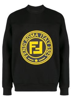 Fendi roma 1925 Logo sweatshirt
