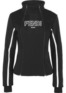 Fendi Roma paneled ski jacket