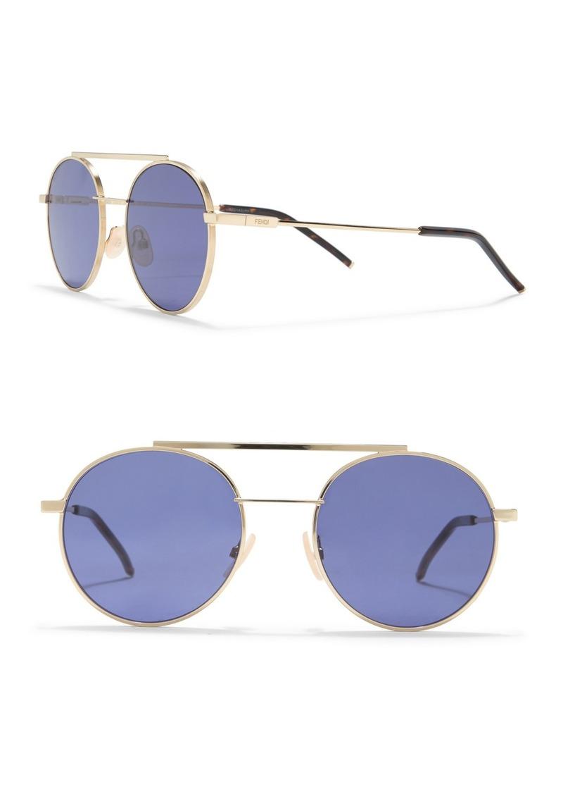 Fendi Round 52mm Sunglasses