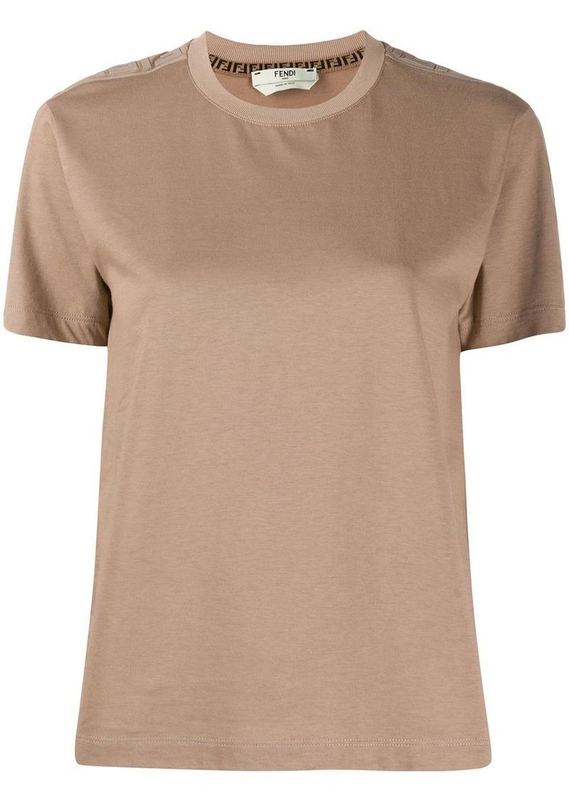 Fendi round neck T-shirt